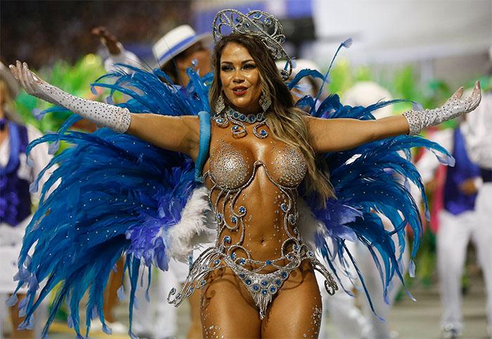 Brazilian Carnival female bikini costume