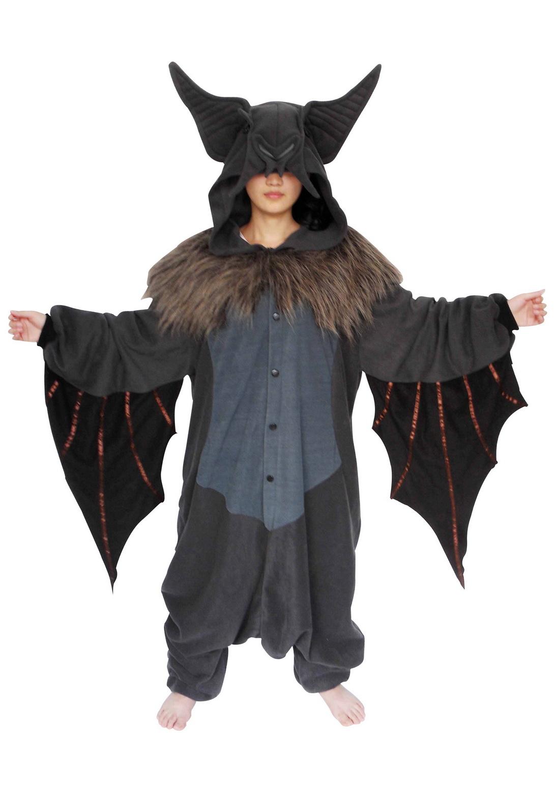 Kid Bat Pajama Costume