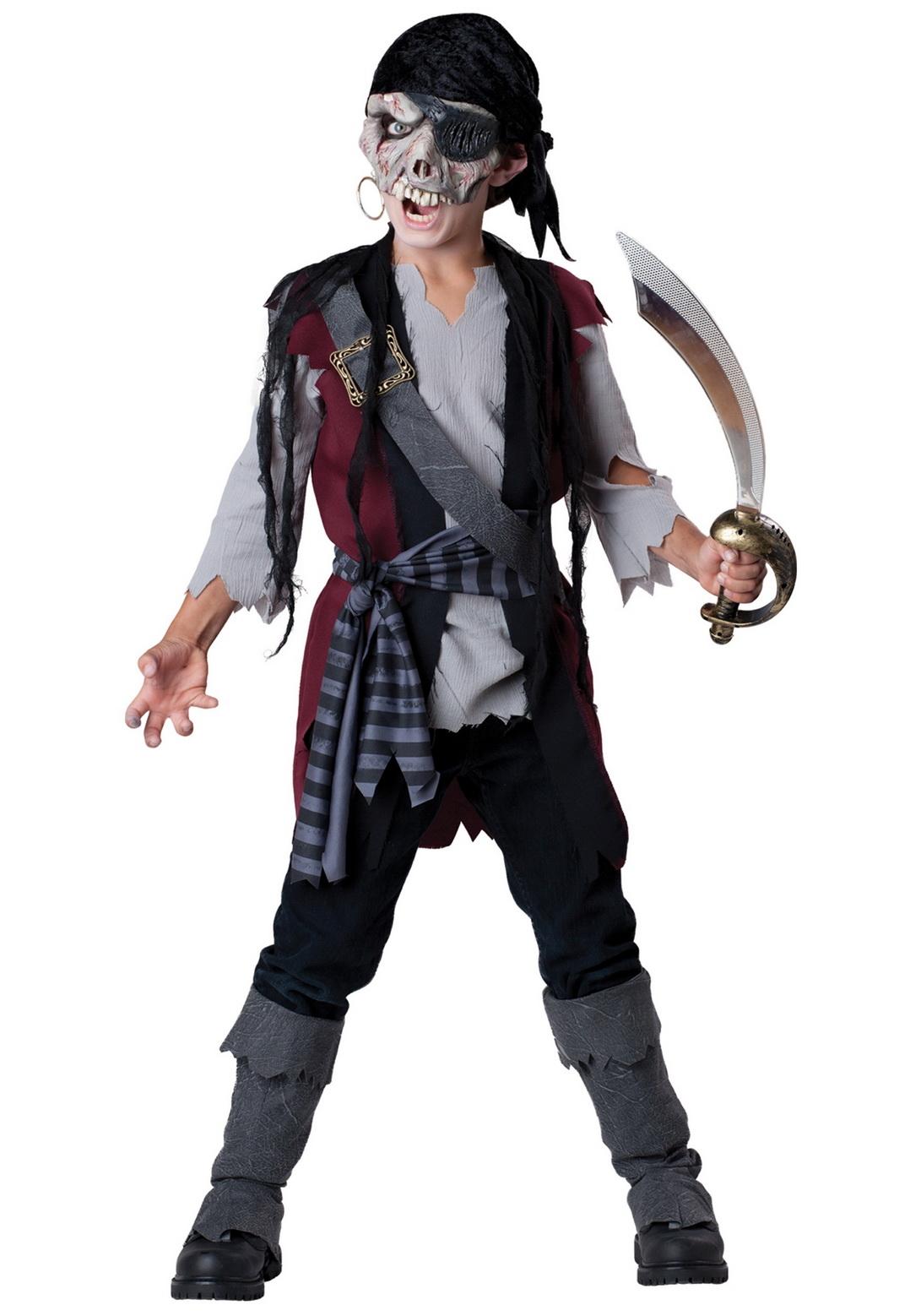 Kids Shipwrecked Pirate Costume