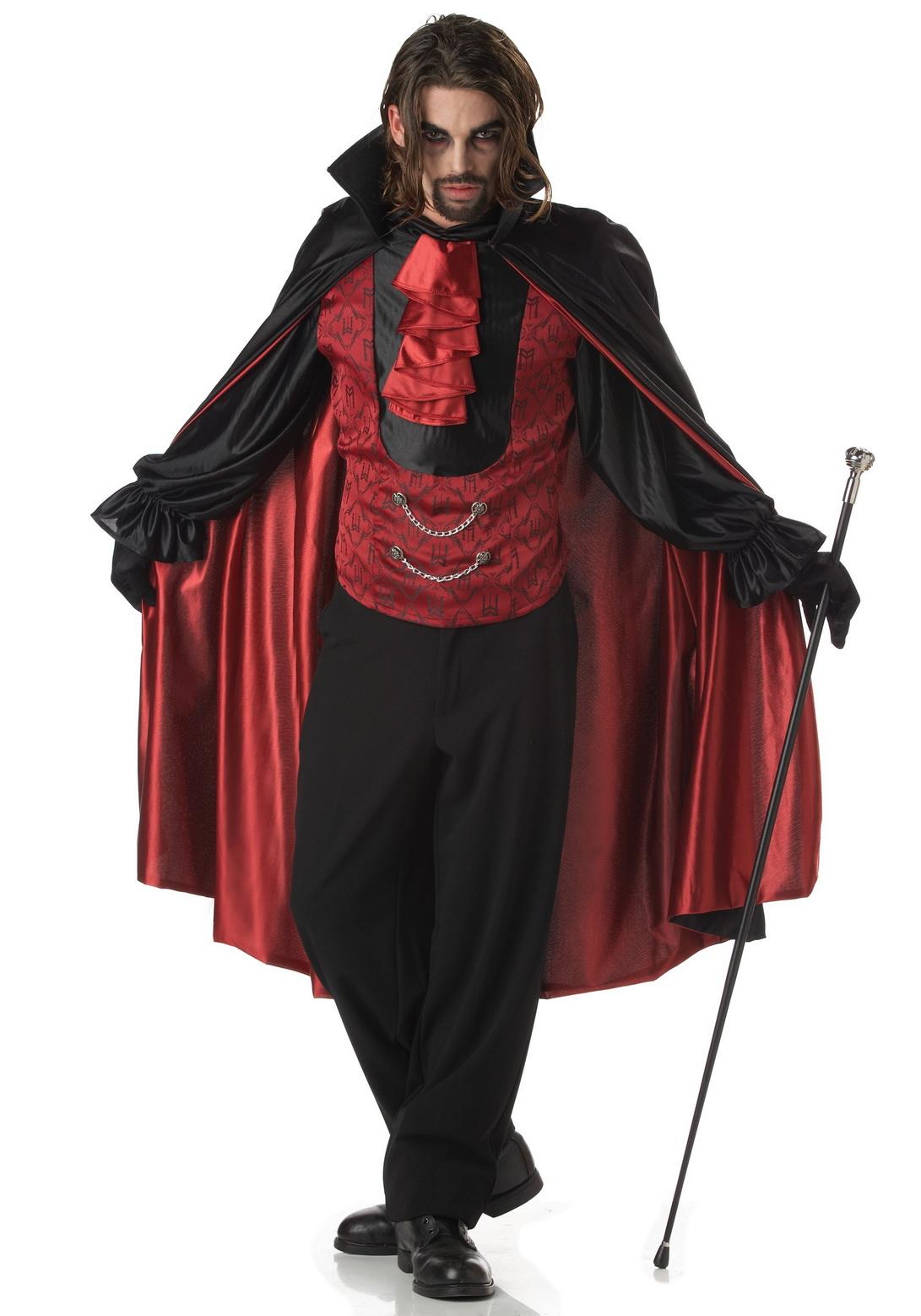 Vampire Costume Male