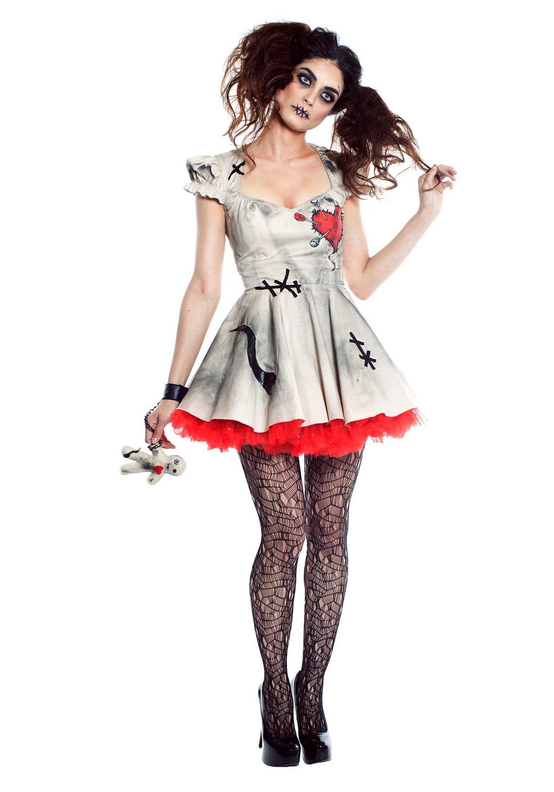 Sexy Womens Voodoo Doll Costume