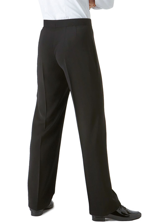 Men Ballroom Standard Trousers Back View