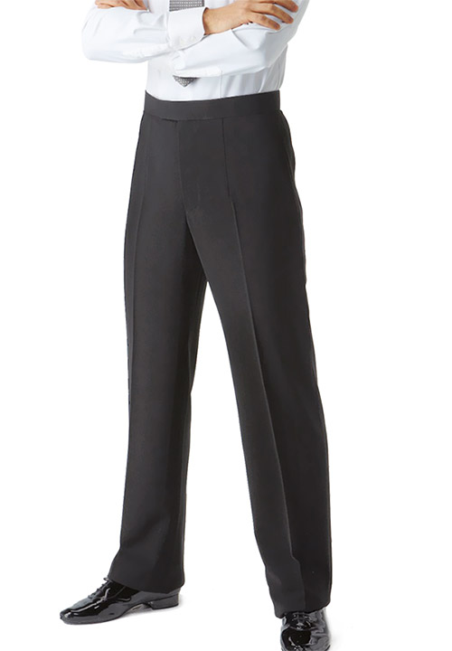 Men Ballroom Standard Trousers Front View