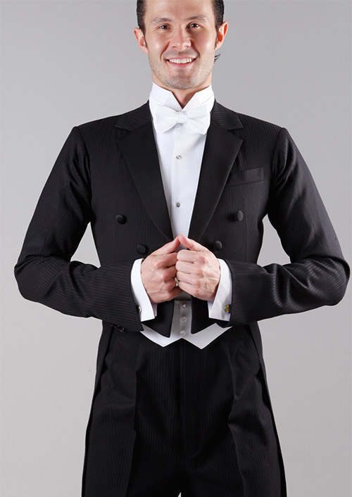 Ballroom tailcoat with vest