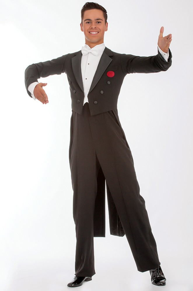 Black Tailsuit Ballroom Dancing
