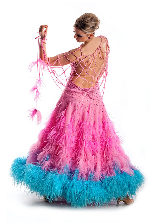 Fancy dress for women ballroom dancing