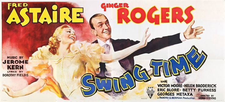 Swing Time movie poster